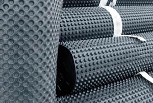 rubber membrane waterproofing