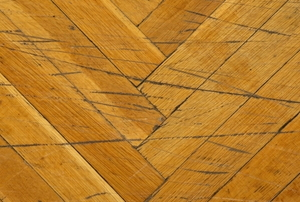 scratches across hardwood flooring