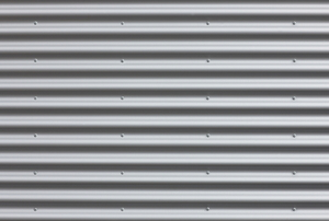 corrugated metal siding