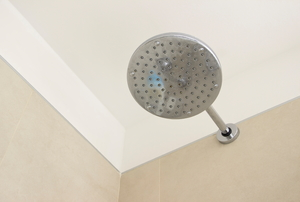 showerhead and shower ceiling