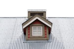 a tin rooftop