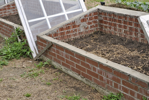 A cold frame.