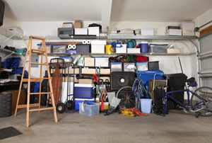 A garage in need of winterizing.