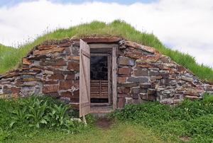 A root cellar.