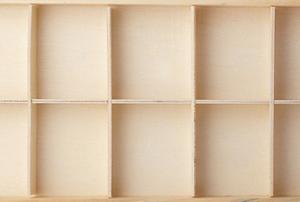 A drawer organizer.