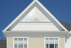 a gable roof