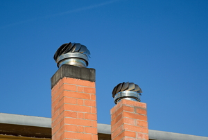 chimney caps on chimneys