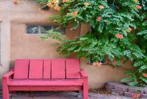 A patio chaise lounge chair.