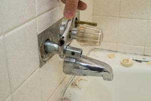 bathtub spout