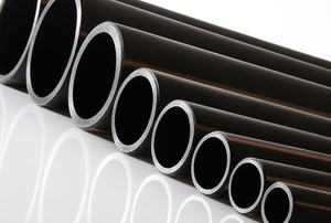 plastic pipes of different sizes