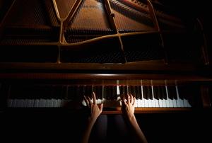 A piano.
