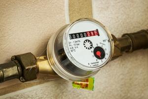 A water meter.
