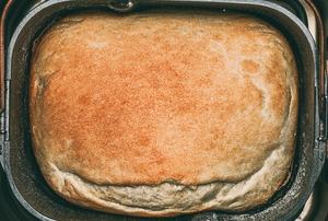 bread baked in bread machine