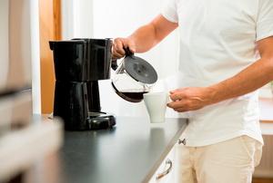 A coffee maker.