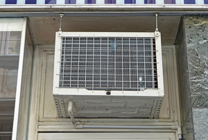 Window air conditioners.