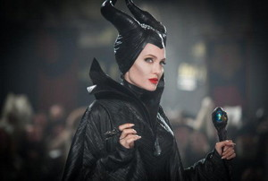 An image of Angelina Jolie playing Maleficent.