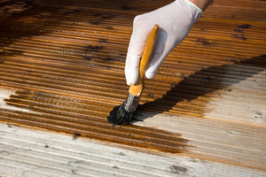 How to Lighten Exterior Wood Stain