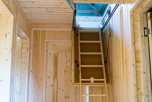 How to Build Folding Loft Stairs