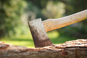 Cutting Down Trees with an Axe