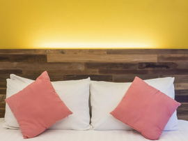 How to Make a Rustic Wood Headboard