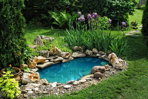 Repurposed Water Features