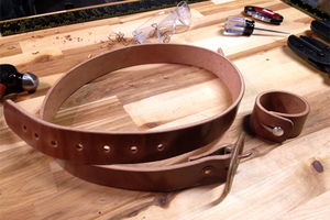 How to Make a Simple Leather Belt