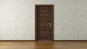 Install a Door Frame in a Brick Wall