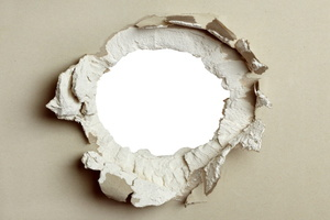How to Cut a Hole in Plaster Ceiling