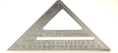 The Sd Square Also Called A Rafter Angle Or Triangle Is An Extremely Versatile Tool Originally Intended To Help Carpenters Quickly And