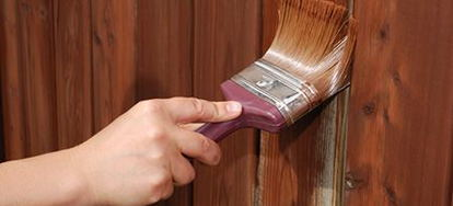 Paint Or Stain Wood Fencing By Murray Anderson What You Ll Need