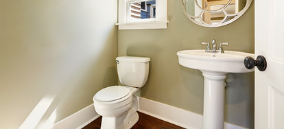How To Replace A Bathroom Cabinet With A Pedestal Sink
