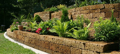 Build a Retaining Wall in Your Yard | DoItYourself.com
