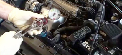 440 mopar oil pump leak