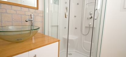 Cleaning A Fibergl Shower Enclosure Has Been The Subject Of Problems For Many People Over Years This Type Tendency To Get Very Dirty
