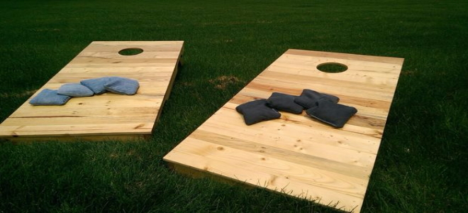 4. Cornhole Boards