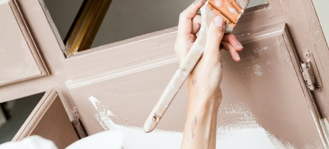 How To Faux Paint Bathroom Cabinets how to apply faux finish bathroom cabinets | doityourself