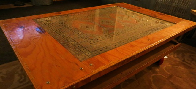 What You'll Need - Rolling Coffee Table Built From Scrap DoItYourself.com