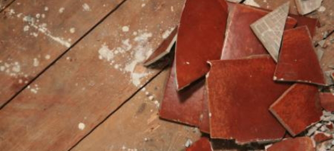 Removing Ceramic Tile Removing Ceramic Tile