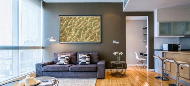 Do Dark Wall Colors Make Room Look Smaller