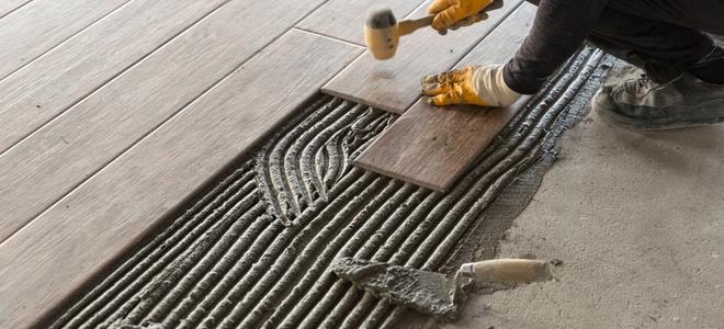Installing Slate Tile Over A Concrete Base Doityourself Com