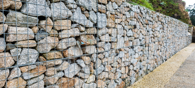 How To Build Gabion Retaining Walls Doityourself Com