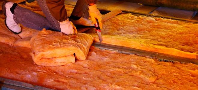 Fiberglass Insulation In The Attic 1 Preparation