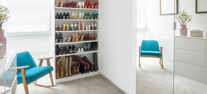 Как построить шкаф для обуви