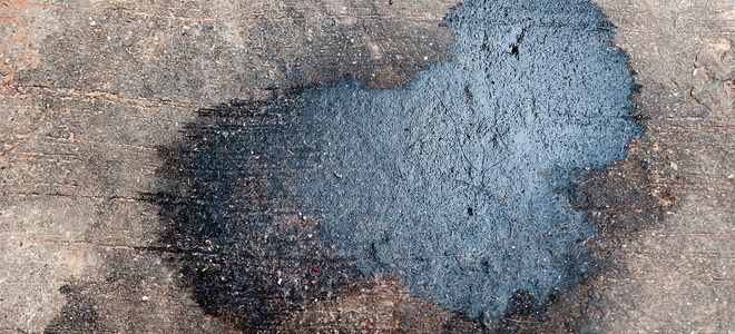 How to remove oil stains from concrete for Clean oil from concrete