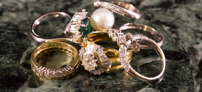 how to clean your rhodium plated jewelry