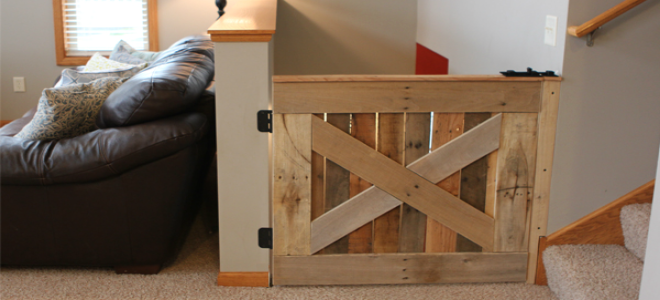 6. Barn Door Baby Gate