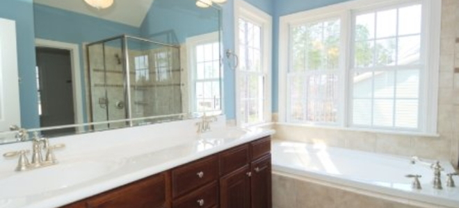 Install A Bathroom Vanity And Sink Part DoItYourselfcom - How to install a bathroom vanity and sink
