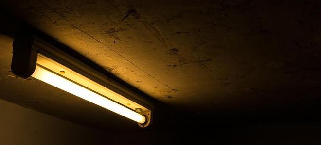 Install Fluorescent Garage Lighting