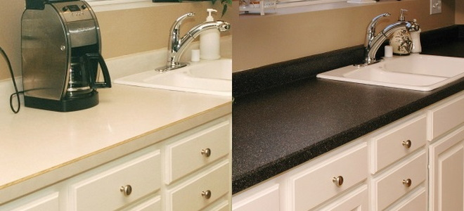 All About Composite Bathroom Countertops Doityourself Com