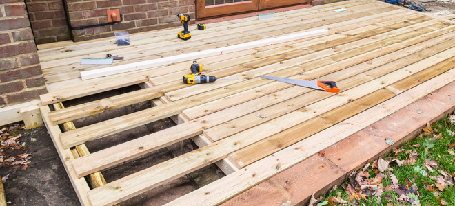 Plywood decking a good alternative for How do you build a deck yourself